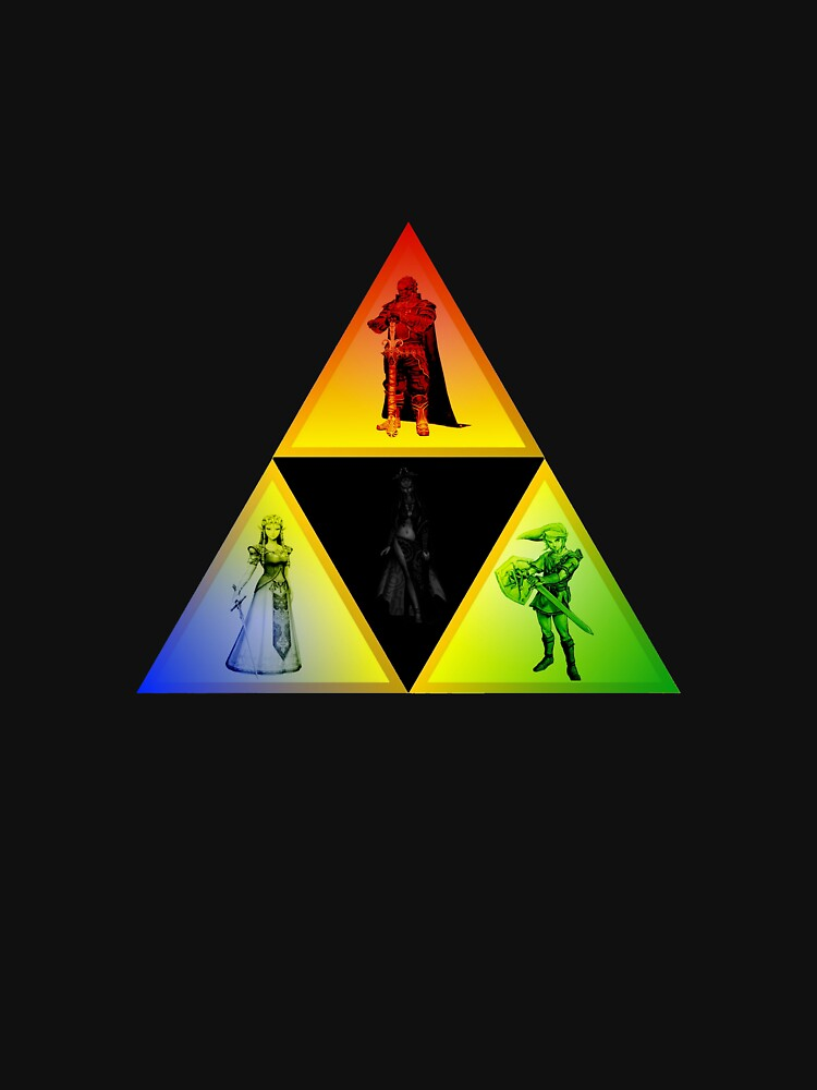 Twilight Princess Triforce Symbol