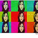 Jennifer Aniston Pop Art poster by Daniel  Taylor