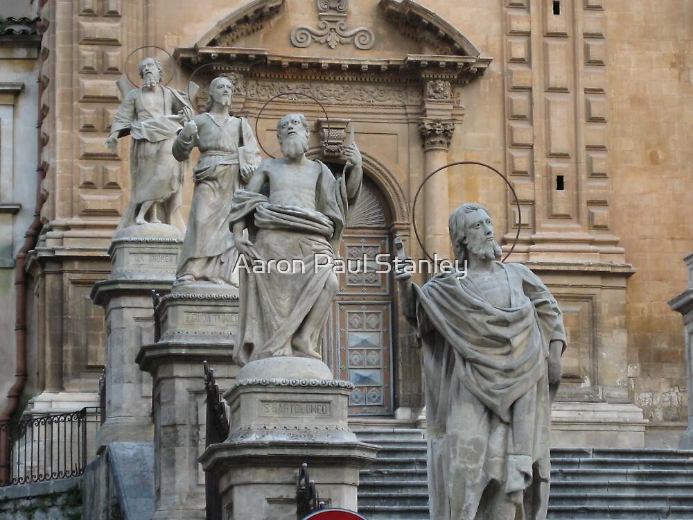 Twelve Apostles Sculptures by Aaron Paul Stanley