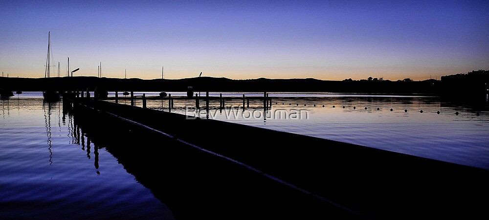 PURPLE HUE - VALENTINE NSW by Bev Woodman