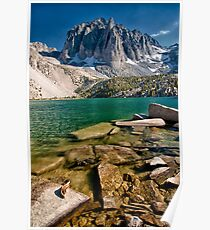 Third Lake & Temple Crag Poster