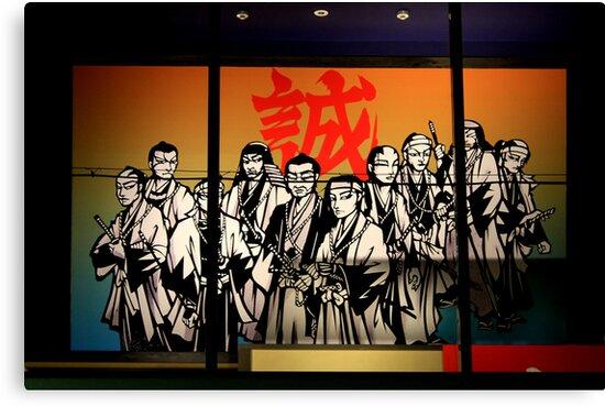 Japan Reloaded - Manga Samurai by fenjay