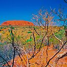 Uluru, big rock in the desert. by AndyFeltonPix