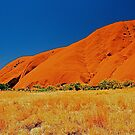 Uluru Slopes by AndyFeltonPix