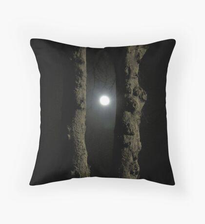 Moonlight: Framed Throw Pillow
