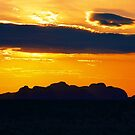 Sunset KATA TJUTA by AndyFeltonPix