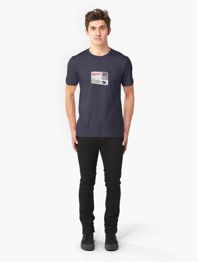Alternate view of Cortexiphan tablets - now available on prescription... Slim Fit T-Shirt
