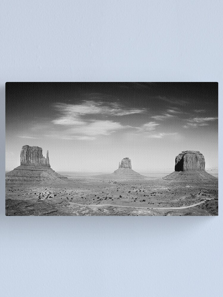 Alternate view of Monument Valley Utah  Canvas Print