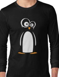 Nerdy Penguin Long Sleeve T-Shirt