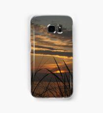 Sunset at Silver Beach Samsung Galaxy Case/Skin