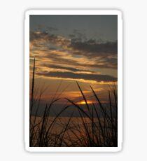 Sunset at Silver Beach Sticker