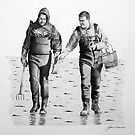 Weekend Warriors...Oyster Harvesters by J.D. Bowman