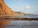 Jacobs Ladder, Sidmouth, Devon by Jacki Stokes