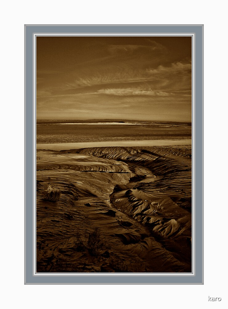 """Mount St Michael... """"The golden Sands"""" by karo"""
