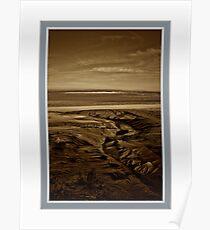 "Mount St Michael... ""The golden Sands"" Poster"