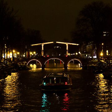 Amsterdam by night by esmerose