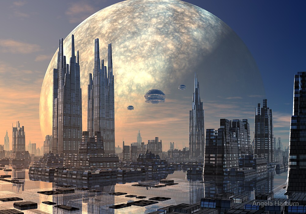Future City by Angela Harburn