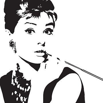 Audrey Hepburn by Fulep