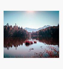 Winter Lake Photographic Print