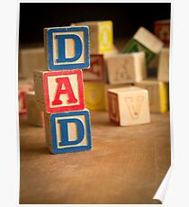 Father's Day Card Poster