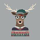Hipster Deer von kennasato