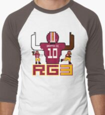 RG3 Tecmo style! Men's Baseball ¾ T-Shirt