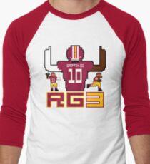 RG3 Tecmo style! Men's Baseball ¾ T-Shirt