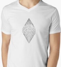 spline cone Mens V-Neck T-Shirt