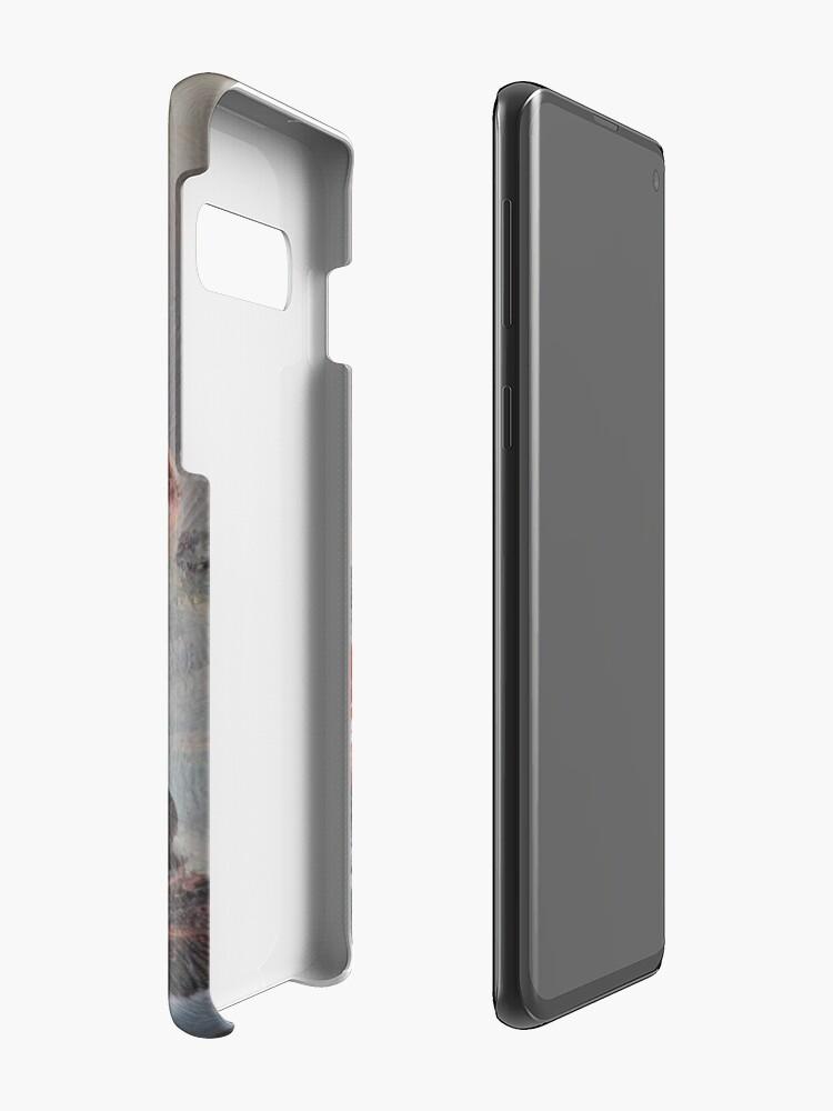 Vista alternativa de Funda y vinilo para Samsung Galaxy Point Steak