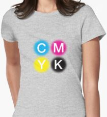 CMYK 2 Women's Fitted T-Shirt
