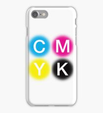 CMYK 2 iPhone Case/Skin
