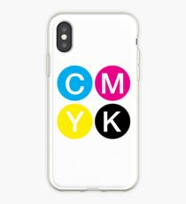 CMYK 4 iPhone Case