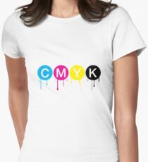 CMYK 5 Women's Fitted T-Shirt
