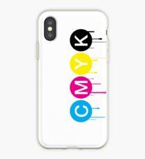 CMYK 5 iPhone Case