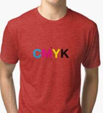 CMYK 7 Tri-blend T-Shirt