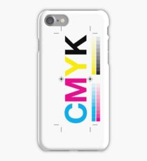 CMYK 8 iPhone Case/Skin