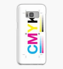 CMYK 8 Samsung Galaxy Case/Skin