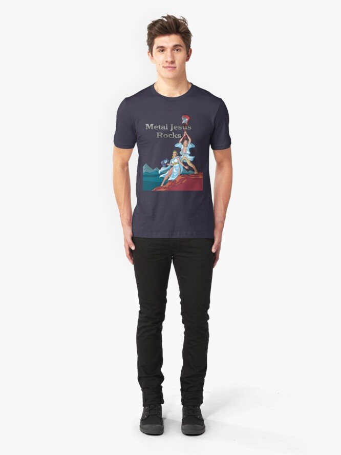 Alternate view of MJR - May the Force Slim Fit T-Shirt