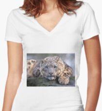 Vishnu Women's Fitted V-Neck T-Shirt