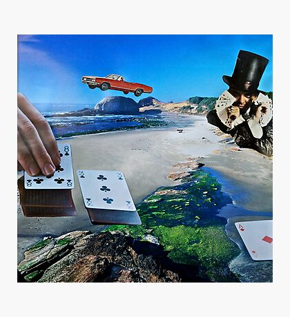 Gambling With God Photographic Print