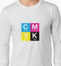CMYK 11 Long Sleeve T-Shirt