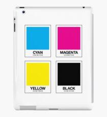 CMYK 12 iPad Case/Skin