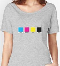 CMYK 13 Women's Relaxed Fit T-Shirt