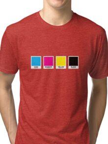 CMYK 13 Tri-blend T-Shirt