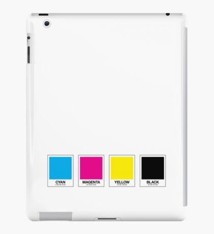CMYK 13 iPad Case/Skin