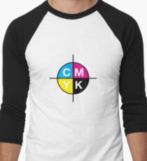 CMYK 14 Men's Baseball ¾ T-Shirt