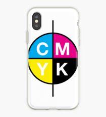 CMYK 14 iPhone Case