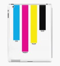 CMYK 16 iPad Case/Skin