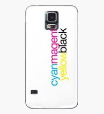 CMYK 18 Case/Skin for Samsung Galaxy