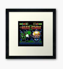 Mario Kombat II Framed Print
